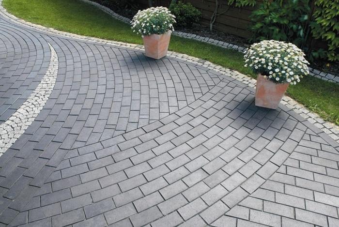 Тротуарная плитка из керамзитобетона посадский бетон